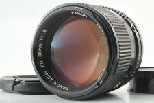 【EXCELLENT+++++】 CANON NEW FD 85MM F/1.8 NFD MF LENS FROM JAPAN #0089