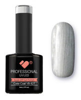 VB-827 VB™ Line Chrome Silver Saturated - UV/LED soak off gel nail polish