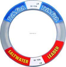 Trik Fish SWL0010001 Mono SW Leader Wrist Spool 100lb 50yd Clear