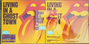 Rolling Stones - Living In A Ghost Town Japan only SHM CD + Purple + Orange LP