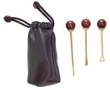 TAMPER & CLEANING Tools for Smoking Pipe fashion Accessories KIT 3 in 1 Wood