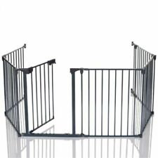 Baby-Adjustierbare Edelstahl Tür- & Treppenschutzgitter