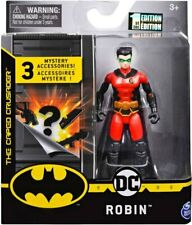 "DC Comics The Caped Crusader Robin 3.75"" Figure with 3 Mystery Accessories"
