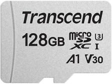 128GB MEMORY CARD TRANSCEND HIGH SPEED MICROSD CLASS A1 U3 for CELL PHONES