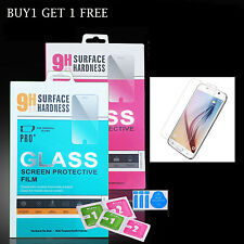 NEW 100%Genuine Tempered Glass Screen Protector Protection for Samsung Galaxy S6