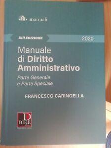Manuale di diritto amministrativo. Parte generale e parte... - Caringella Fra...