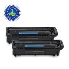 2 Q2612A Black Toner Cartridge For HP 12A LaserJet 1012 1010 1015 3020 3030 3050