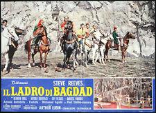 CINEMA-fotobusta IL LADRO DI BAGDAD s. reeves, A. LUBIN
