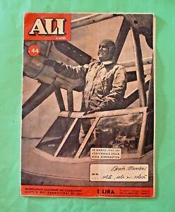 Rivista Ali di guerra - Anno III - N. 44 1943