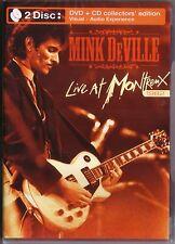 DVD + CD (NEU!) . MINK DeVILLE- Live in Montreux (1982 De Ville mkmbh