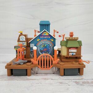 1996 Galoob Micro Machines Exploration Sea Tiger Shark Landing Playset Toy