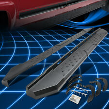 """5.5""""Running Boards Step Bar For 07-17 Chevy Silverado Ext Cab Black Left+Right"""