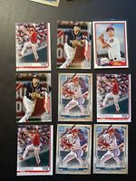 (9) Trea Turner Washington Nationals Topps Gypsy Queen Heritage Series 1 Lot