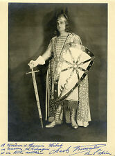 """""""Charles FRONVAL (LOHENGRIN)"""" Photo originale dédicacée1951 (Jacques MAIRESSE)"""