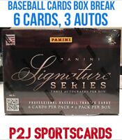 2012 Panini Signature Series BASEBALL Hobby BOX BREAK-1 Random Team-Break 722 ⚾️