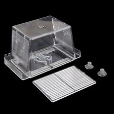Aquarium Fish Tank Guppy Breeding Breeder Rearing Trap Box Hatchery