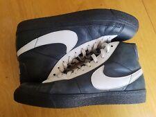 Nike Blazer Major Taylor Hi Premium Vintage Navy & White Basketball Shoes
