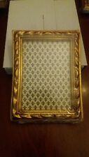 cornice lavorazione foglia oro made in toscana italy -nuova- 11 x 17 cm