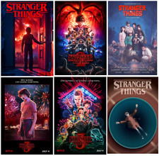STRANGER THINGS TV movie film series science fiction print/poster A4/A3