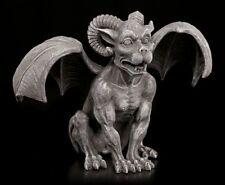 Gargoyle Figur mit Widderhörnern - RAM Horned Statue Fantasy