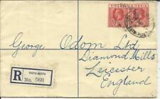 Nigeria Registered Postal Envelope HG:C2 uprated SG#16b(x2) EBUTE METTA