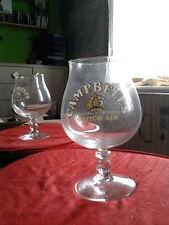 6 verres à bière CAMPBELL'S SCOTCH ALE rare !!