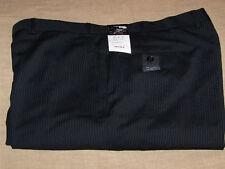 48 X 34 AXCESS FLAT FRONT DRESS PANTS - BLACK- NWT