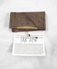 Vintage 1970's Thoroughbred Racing Association Key Case Key Chain