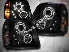 2007 2008 2009 2010 YUKON XL DENALI CCFL TWO HALO PROJECTOR HEADLIGHTS LED BLACK