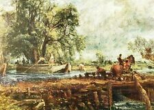 (10846) Postcard - Constable - The Leaping Horse from 1824-5.