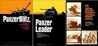 Avalon Hill Panzerblitz + Panzer Leader + Arab-Israeli Wars PDF Reference Disc