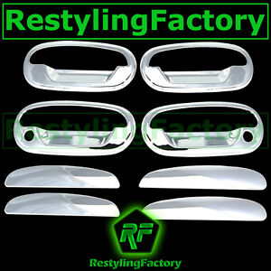 97-03 Ford F150+04 Heritage Chrome 4 Door+NO Keypad+WITH PSG KEYHOL Handle Cover