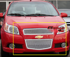 For 2009-2011 Chevy Aveo 5 Door Hatchback Stainless Steel Mesh Grille Grill T255