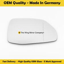 Audi Q7 Wing Mirror Glass, Aspheric, Left Hand Side, Fits Reg 2016 Onwards