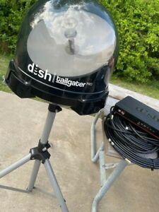 dish network wally receiver, satellite dish tailgater pro DTP4950 w tripod stand