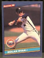 1986 Donruss Nolan Ryan baseball card Houston Astros NrMt #258 MLB HOF Pitcher