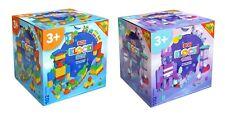 Bauklötze Kinderspielzeug Steckbausteine Blocke Lernspielzeug Steinbox 102tlg DE