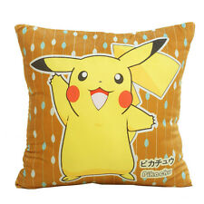 POPULAR! Pokemon Go Pikachu Bulbasaur Raichu Pillow Case Comfort Cushion Cover@@