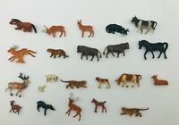 ***Lot of 22*** HO Scale assorted animal figures (Deer, Cow, Horse, Tiger, Goat)
