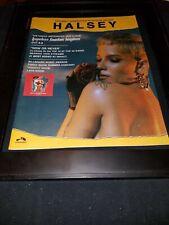 Halsey Hopeless Fountain Kingdom Rare Original Promo Poster Ad Framed!