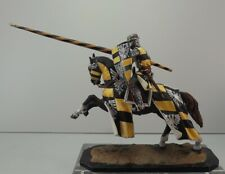Niena Studio St.Petersburg  54 mm Tin  Painted. Knight  on horseback