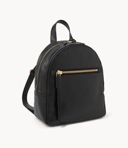 NWT FOSSIL Megan Leather Backpack Handbag Purse