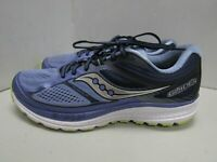 WOMENS SAUCONY EVERUN GUIDE 10 BLUE PURPLE RUNNING SHOES SIZE 11M X553