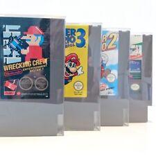 Protectores De Cartucho Para Nintendo NES Game Paks fuerte y liviana (10 Pack)