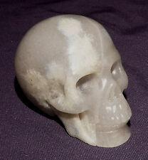 Réaliste Crâne de Pierre Précieuse Crâne, Achat 87,4g 50x40x33mm