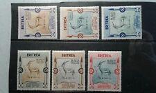 Eritrea #175-80 MNH e201.6433