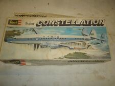 Revell un-built plastic kit of a Lockheed L 1092 Super 6 Constellation. boxed
