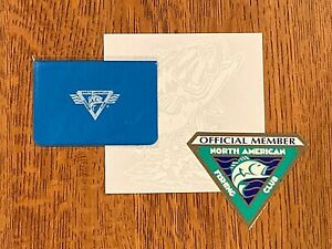 North American Fishing Club - License Holder, Member Decal, Fish Sticker