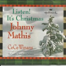 Listen! It's Christmas * by Johnny Mathis (CD, 1999, Hallmark)