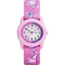 Timex T7B151, Kid'sTime Teacher Pink Nylon Elastic Watch, T7B1519J